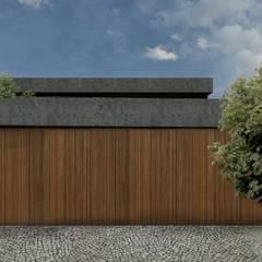 van RAWI Arquitetura + Design Minimalistisch Hout Hout