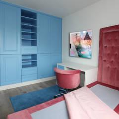 Slaapkamer met badkamer en dressing in suite van Marcotte Style Rustiek & Brocante Hout Hout