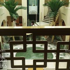 ممر، إستوائي، ممر، رواق، &، درج من Algedra Interior Design إستوائي