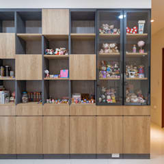 Scandinavian style study/office by 藏私系統傢俱 Scandinavian