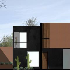 C A S A C A B A N A de Concepto Arquitectura Moderno Mármol