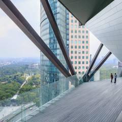 A U D I T O R I O T O R R E R E F O R M A de Concepto Arquitectura Moderno Arenisca