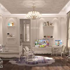 تصميم داخلي لغرفة نوم الأطفال من Algedra Interior Design كلاسيكي