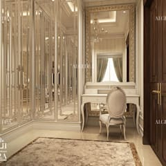 Colonial style dressing rooms by Algedra Interior Design Colonial