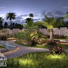 โดย Algedra Interior Design ทรอปิคอล