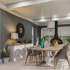 Aynur Yar Villa - İzmir Modern Yemek Odası VERO CONCEPT MİMARLIK Modern