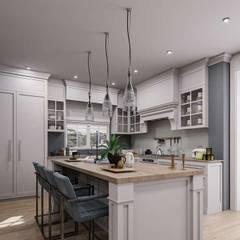 Aynur Yar Villa - İzmir Modern Mutfak VERO CONCEPT MİMARLIK Modern