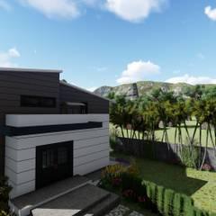 Modern Mimariyle Hafif Çelik Yapı Çalışmamız PRAMO PREFABRİCATED & STEEL Modern Demir/Çelik