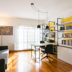 Traço Magenta - Design de Interiores Industrial style study/office