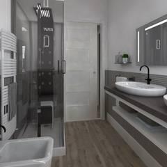 ROMAZZINO C.S. SERVICE SRL Modern bathroom