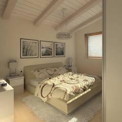 ROMAZZINO C.S. SERVICE SRL Modern style bedroom