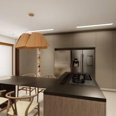 Studio Ideação Dapur built in MDF