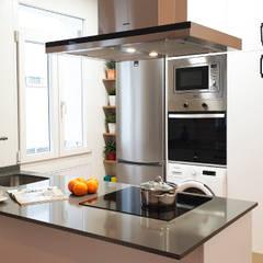 ZERMATT DECORACION S.L Small kitchens ДСП Сірий