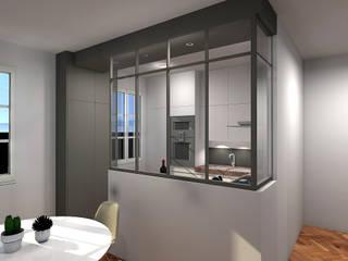 Cuisine appartement nantais : Cuisine de style de style Moderne par Benoit Bayart