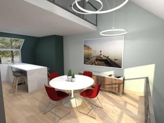 Triplex nantais : Salle à manger de style de style Moderne par Benoit Bayart