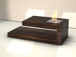 """Coffee Table """"FIRE"""":  Wohnzimmer von BERLINRODEO interior concepts GmbH"""