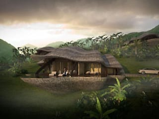 Tropical style houses by designyougo - architects and designers Tropical
