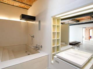 designyougo - architects and designers 浴室 磚塊 Beige