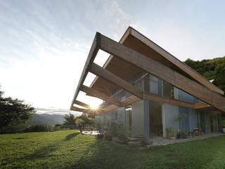 designyougo - architects and designers 房子 木頭 Blue