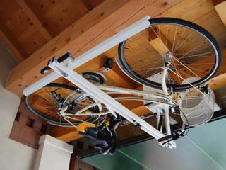 Garage/shed by flat-bike-lift, Modern