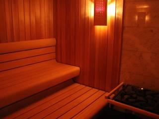 Saunas de estilo  por Architekten Graf + Graf