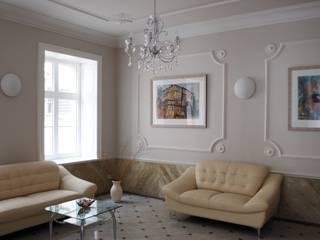 Wandmalerei & Oberflächenveredelungen 經典風格的走廊,走廊和樓梯