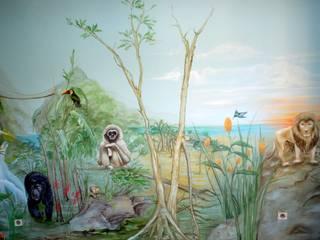 Wandmalerei & Oberflächenveredelungen 嬰兒房/兒童房
