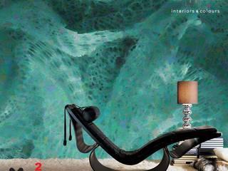 Murs & Sols de style  par vanHenry interiors & colours