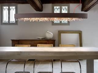 Olá S6 OV 160 - Der moderne Klassiker von Masiero: moderne Wohnzimmer von lights4life GmbH & Co.KG