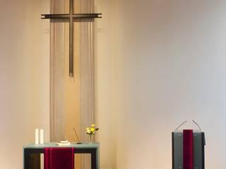 Kunst am Bau - Altarrückwand Moderne Häuser von Wandmalerei & Oberflächenveredelungen Modern