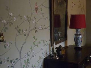 Wandmalerei & Oberflächenveredelungen 亞洲風玄關、階梯與走廊