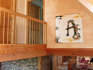 Corredores, halls e escadas campestres por wohnhelden Home Staging Campestre