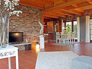 Salas de jantar campestres por wohnhelden Home Staging Campestre