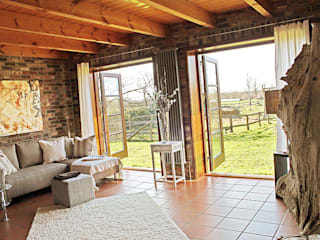wohnhelden Home Staging Salas de estilo rural