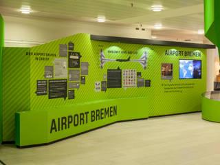 Aeropuertos de estilo moderno de Hellmers P2 | Architektur & Projekte Moderno