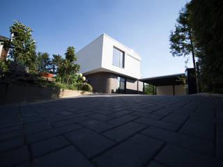 Einfamilienhaus Futura Moderner Garten von Hellmers P2 | Architektur & Projekte Modern