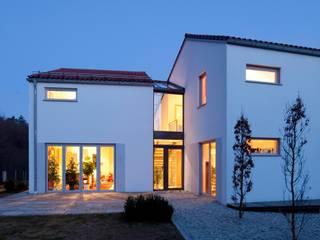 Wohnhaus am Hang Architekt Armin Hägele Moderne Häuser