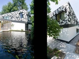 Wohnhauserweiterung D2: moderner Pool von [lu:p] Architektur GmbH