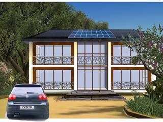 maisons passives Maisons modernes par FOBB Moderne