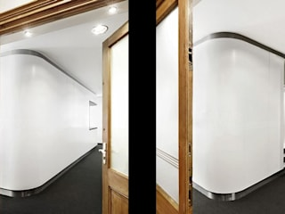Staircase, Corridor and Hallway by [lu:p] Architektur GmbH