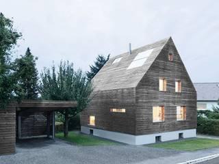 Casas modernas: Ideas, imágenes y decoración de [lu:p] Architektur GmbH Moderno