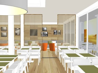 Eclectic style gastronomy by Innenarchitektur Berlin Eclectic