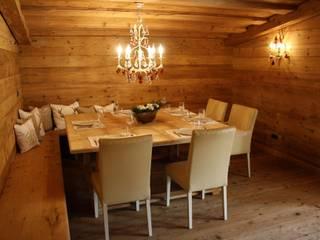 Salas de jantar campestres por homify Campestre