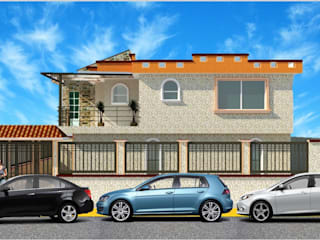 casa azahres Casas rústicas de DD Arquitectos Rústico