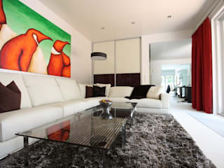 Living room by RAUMAX GmbH, Modern