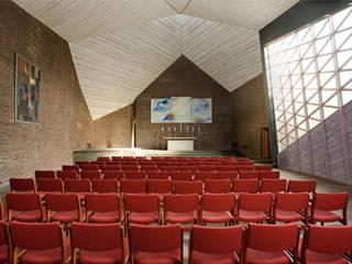 Denkmalgerechte Sanierung der Scharounkirche in Bochum:  Häuser von andreas gehrke . architekt