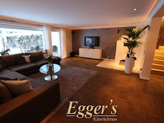 Living room by Egger`s  Einrichten,