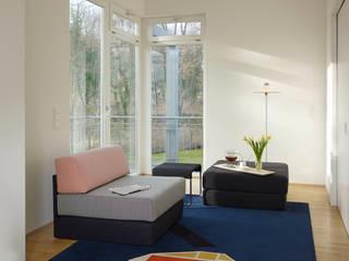 Farbe bekennen:  Wohnzimmer von dessau design