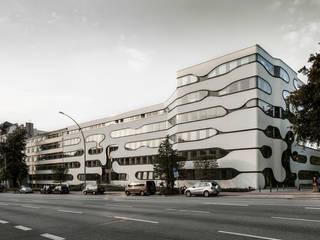 SCHLUMP ONE - Office Complex and University Building, Hamburg:  Bürogebäude von J.MAYER.H