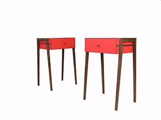 Animate Bedside Table: modern  von Young & Norgate,Modern